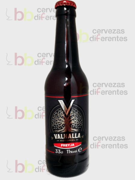 Valhalla Freyja 33cl_hidromiel_sin gluten_cervezasdiferentes