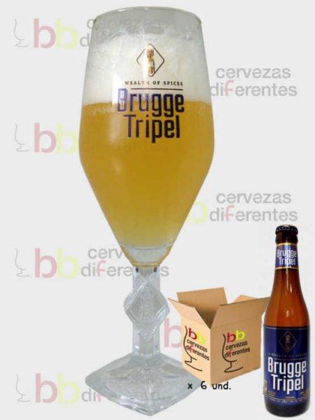Brugge Tripel_copa_pack_cervezas_diferentes