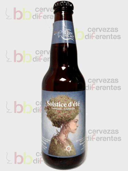 Dieu du ciel_Solstice d'été con frambuesas_canadá_cervezas diferentes