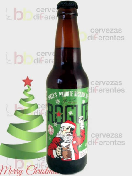 Rogue Santa Private Reserve Ale_EEUU_Navidad_cervezas_diferentes
