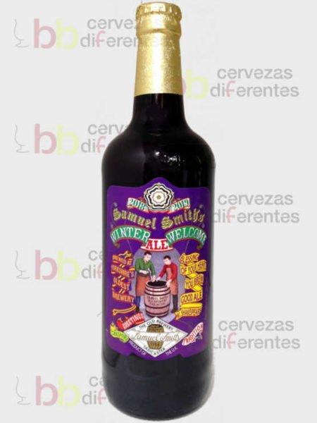 Samuel Smith_Winter Welcome_inglaterra_cervezas_diferentes