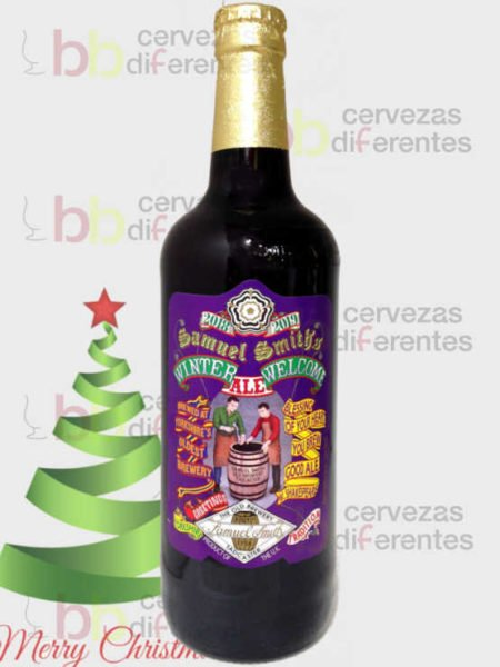 Samuel Smith_Winter Welcome_inglaterra_navidad_cervezas_diferentes