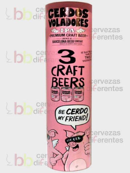 Barcelona Beer pack Cerdos Voladores Barcelona cervezas_diferentes