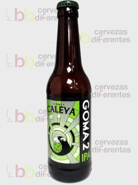 Caleya_Goma 2 IPA_artesana_cervezas diferentes