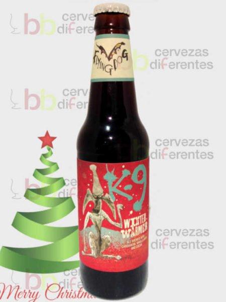 Flying Dog K9 Cruiser Winter Ale americana_navidad_cervezas_diferentes