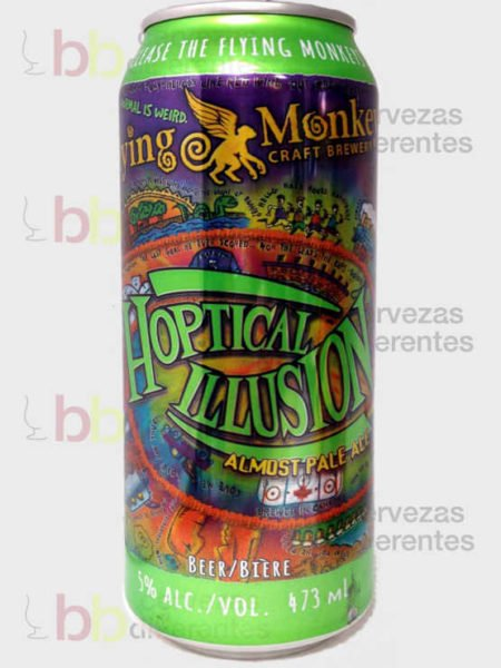 Flying Monkeys Hoptical Ilusion Almost Pale Ale_canada_cervezas_diferentes