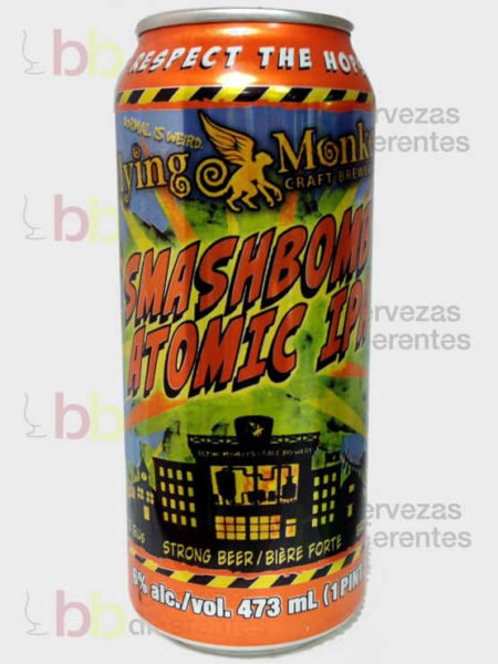 Flying Monkeys Smashbomb Atomic IPA_canada_cervezas_diferentes