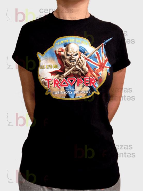 16374070d Camiseta TROOPER IRON MAIDEN – CHICA – TALLA L