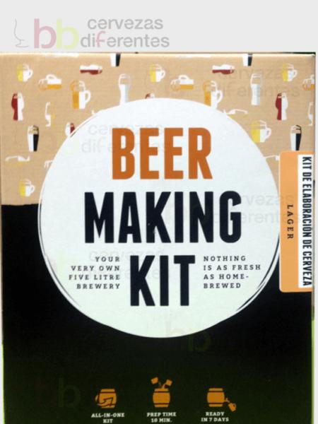 Kit para preparar cerveza_Lager_cervezas diferentes