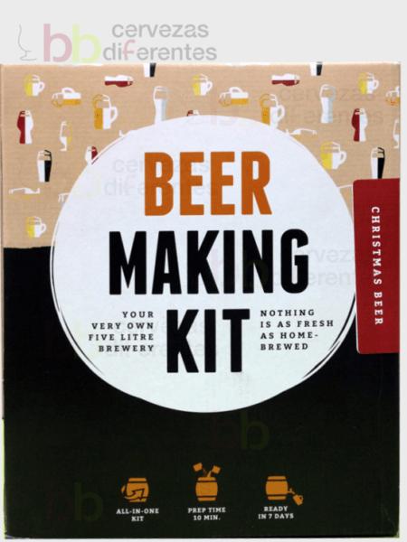 Kit para preparar cerveza_christmas beer_cervezas diferentes