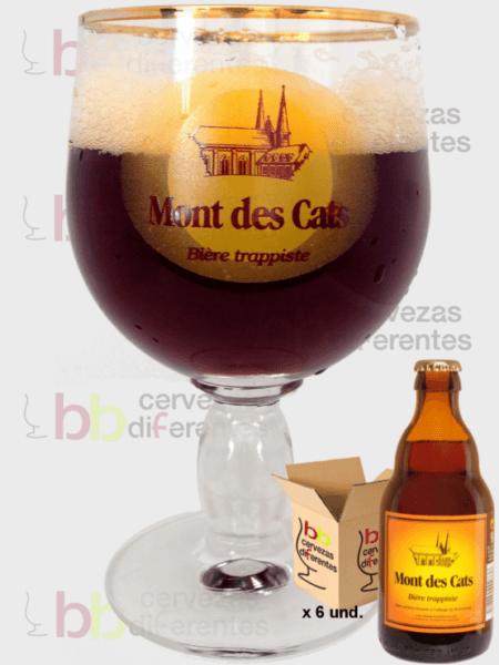 Mont des cats 33 cl_Lote 6 und y copa_cervezas diferentes