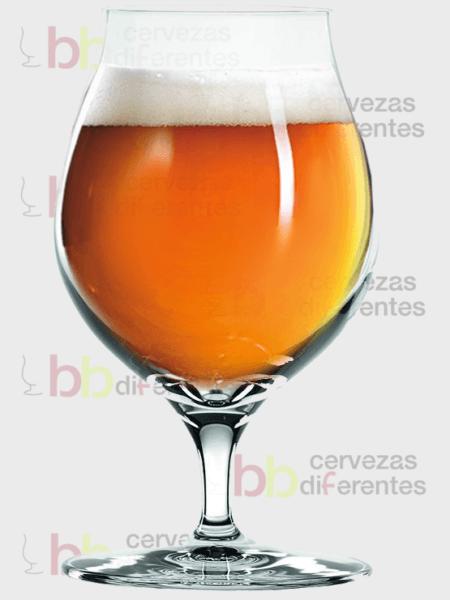 Spiegelau_copa tulipa Lager_2_cervezas diferentes