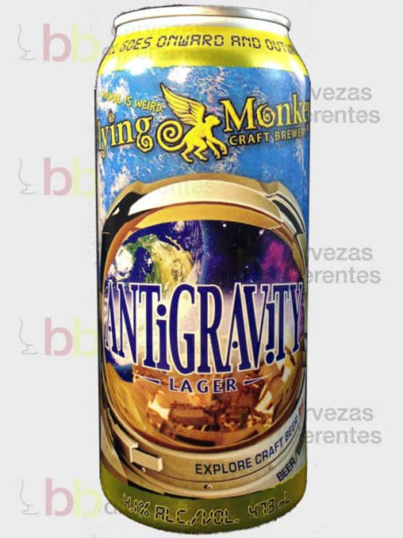 Flying Monkeys Antigravity Lager canada_cervezas diferentes