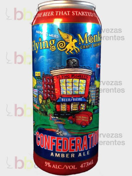 Flying Monkeys Confederation Amber Ale_canada_cervezas diferentes