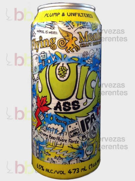 Flying Monkeys Juicy Ass American IPA_canada_cervezas diferentes