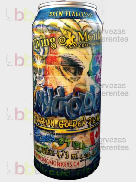 Flying Monkeys Mithology Canadian Golden Pilsner_canada_cervezas_diferentes