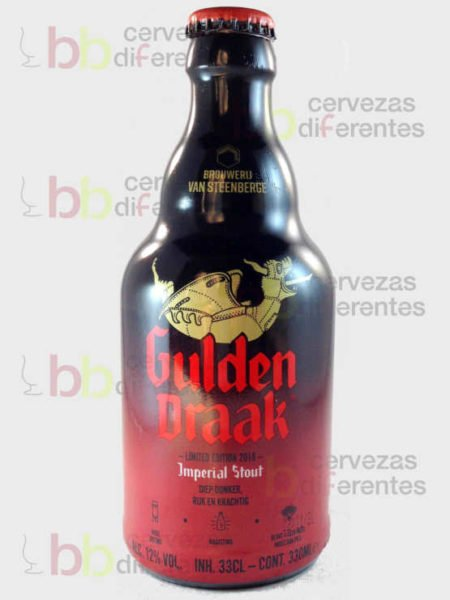 Gulden Draak_imperial stout 33 cl cervezas_diferentes