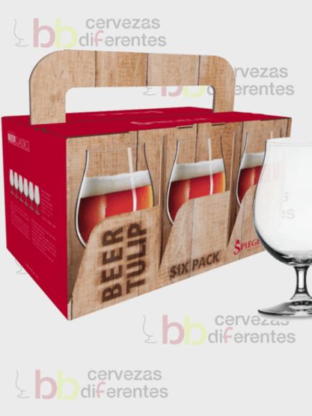 Spiegelau_copa tulipa Lager_sixpack beer_cervezas diferentes