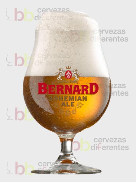 Bernard Bohemian Ale copa cervezas diferentes