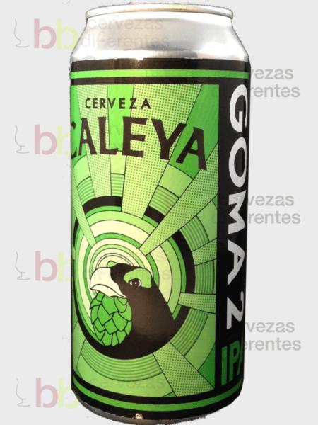 Caleya_Goma 2 IPA 44cl_Lata_artesana_cervezas diferentes