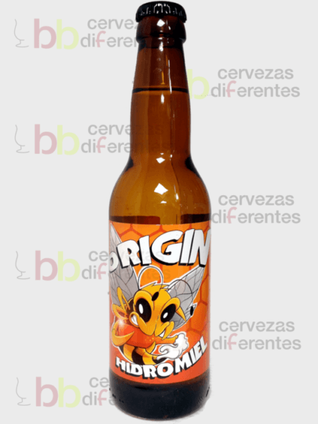 Crazy Bee Origin _hidromiel 33cl_artesana_cervezas diferentes