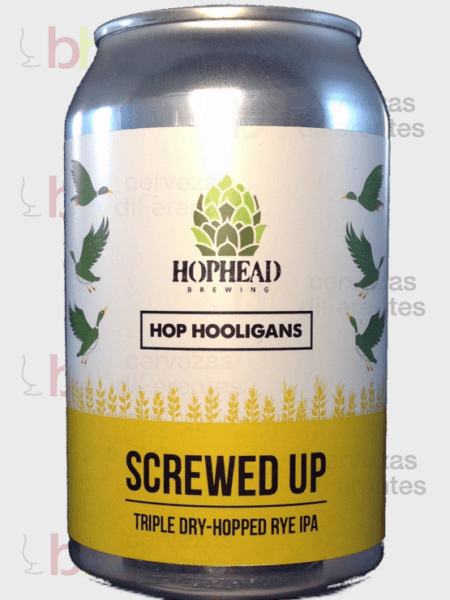 Hop Hooligans_Hophead Screwed up 33cl_cervezas diferentes