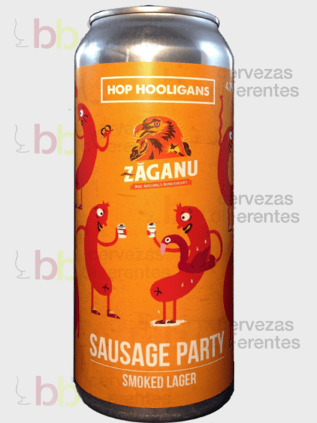 Hop Hooligans_Sausage Party 50cl_cervezas diferentes_