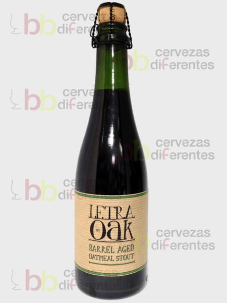 Letra oak aged oatmel stout_portugal_cervezas diferentes