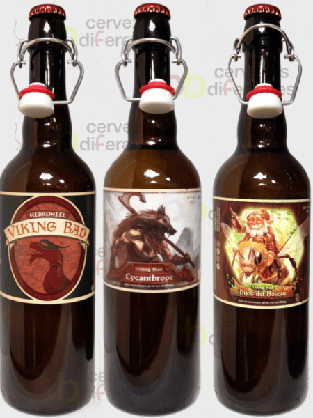 Viking bad_lote mixto hidromiel 75cl_madrid_cervezas diferentes