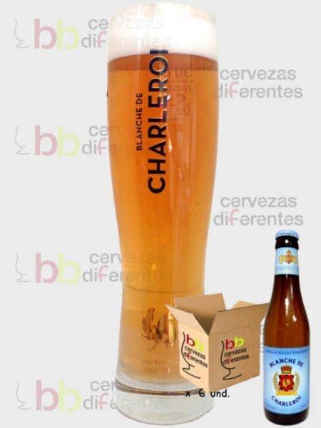 Blanche de Charleroi_vaso_pack_cervezas_diferentes