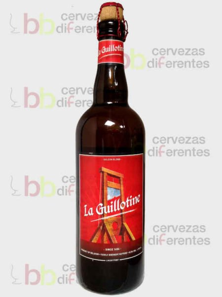 La guillotine 75 cl_belga_cervezas diferentes