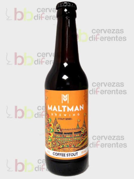 Maltman Coffee Stout_artesana_cervezas diferentes