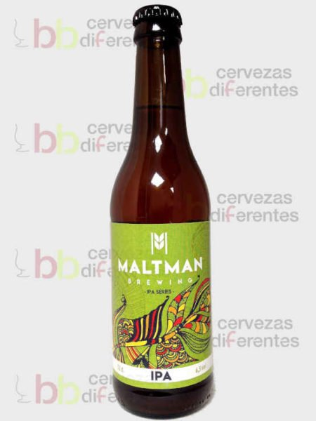Maltman IPA_artesana_cervezas diferentes
