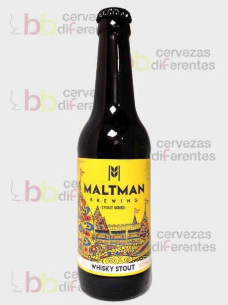 Maltman Whisky Stout_artesana_cervezas diferentes