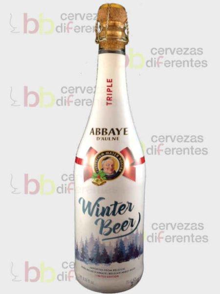Abbaye D aulne winter beer triple_belga_cervezas diferentes