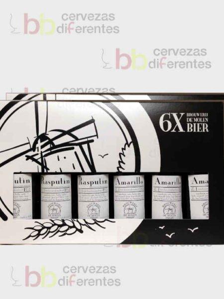 Brouwerij de molen_estuche regalo 6 botellas_holanda_cervezas diferentes