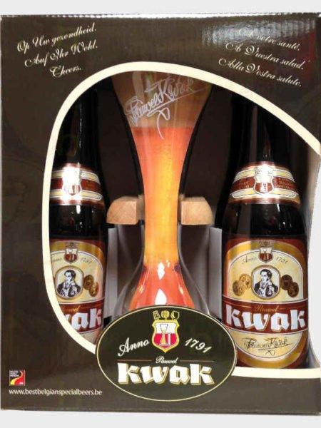 Estuche Kwat 33_4 y vaso con soporte_belga_cervezas diferentes