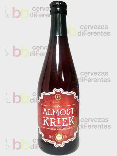 Sesma Brewing_Almost Kriek_navarra_cervezas diferentes