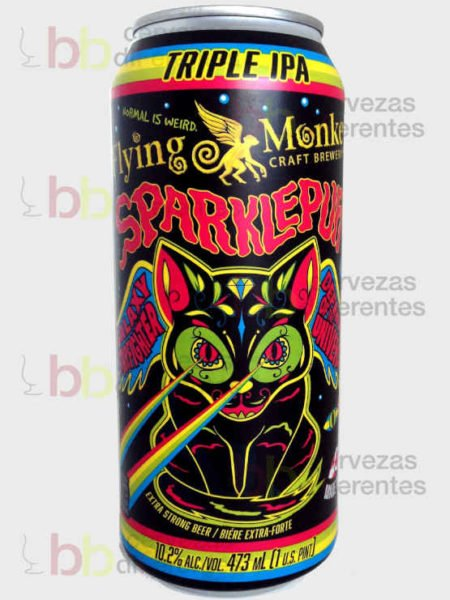 Flying Monkeys_sparklepuff triple IPA_lata_canada_cervezas diferentes
