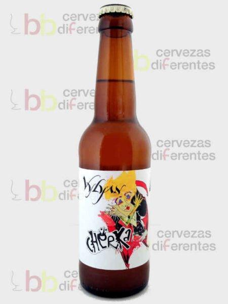 Mad Scientist Cherka Chardonnay _hungria_IPA hibrid_cervezas diferentes