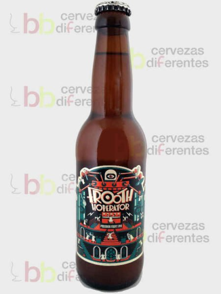 Mad Scientist Frooth Hoperator_Passion Fruit _hungria_IPA_cervezas diferentes